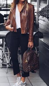 top 25 best brown leather jackets ideas on pinterest womens