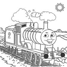 Free Coloring Pages Of Thomas The Train Cartoon