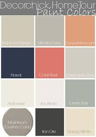 Popular Living Room Colors Sherwin Williams by Paint Colors In Our Home And Updated Home Tour Decorchick