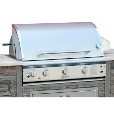 Deluxe Patio Bistro Gas Grill by Profire Professional Deluxe Series 36 Inch Built In Natural Gas