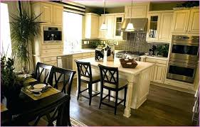 Kitchen Island Dining Table And Combination Of Combo Design