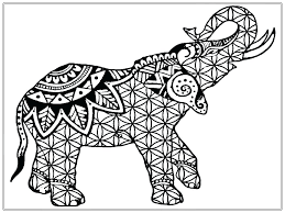 Baby Elephant Coloring Pages Print Elmer The Page Free For Adults Printable Preschoolers Full Size