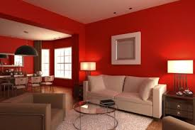 wandfarbe rot gekonnt einsetzen