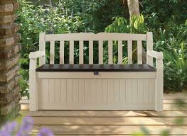 Rubbermaid Patio Storage Bins by Bench Bench With Storage Awesome Bench With Storage Bins