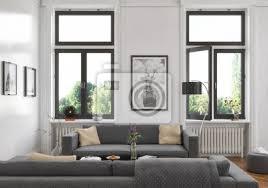 modern eingerichtete altbauwohnung mit stuck in berlin prenzlauer bilder myloview