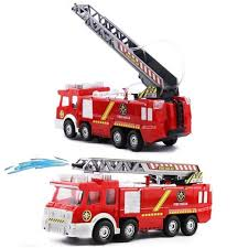100 Fire Trucks Toys Truck Toy For Kids Boys Rescue Vehicle Lights Sirens
