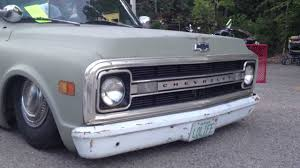 1970 Chevy Low Rider Bagged Chevrolet Truck - YouTube