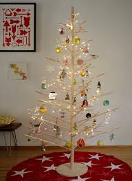 Spiral Pre Lit Christmas Trees by 12 Modern Christmas Trees You Can Decorate With This Holiday