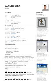 Senior Software Engineer Resume Samples Work Experience