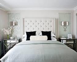 Add Dimensions And Perspective To Your Bedroom With Mirrored Bedside Tables