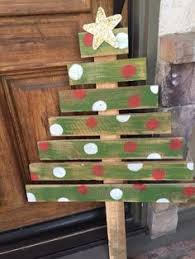 Christmas In Heaven Pallet Sign Tree