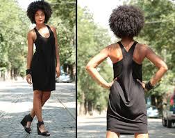 loose dress black dress minimalist dress black tunic
