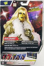 Wwe Goldust Curtain Call by Wwe Mattel Goldust Elite Collection Série 47