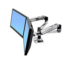 Ergotron Workfit D Sit Stand Desk by Amazon Com Erg45245026 Ergotron Inc Lx Dual Side By Side Arm