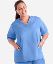 Ceil Blue Scrubs Womens by Butter Soft Scrubs By Ua Women U0027s Two Pocket Top Solid Scrub Tops
