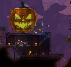 Terraria Pumpkin Moon Arena Ios by Halloween Event Terraria