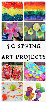 50 Amazing Spring Art Projects For Kids