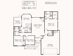 Photo Of Floor Plan For 2000 Sq Ft House Ideas by 1500 To 2000 Sq Ft Floor Plans Home Act