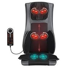Amazon Shiatsu Massage Chair by Amazon Com Naipo Back Massager Chair Full Body Massager Seat