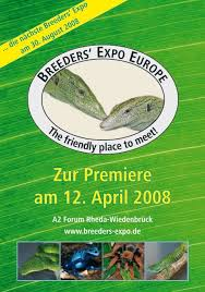 zur premiere am 12 april 2008 breeders expo europe