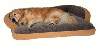 Kh Cool Bed Iii by Luxurious Microfiber And Fleece Lined Dog Bed With Bolster In