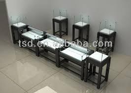 TSD W1313 Display Case Lighting Fixturesjewelry Store Showcase Manufacturer Custom Wood Glass