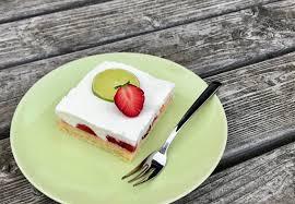Hochzeitstorte Mit Erdbeeren Und Limetten Erdbeer Limetten Schnitten