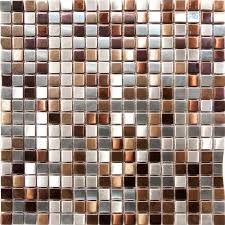 Copper Tiles For Backsplash by Kitchen 1sf Stainless Steel Metal Gold Silver Copper Mosaic Tile