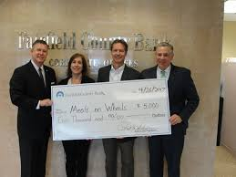 Spirit Halloween Fairfield Ct by Fairfield County Bank Donates 5 000 To Meals On Wheels Of Ridgefield