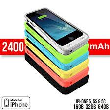 Amazon iPhone 5C SE Battery Case Alpatronix BX120plus