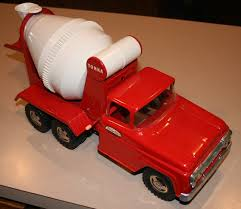 1958 Tonka Toys Pressed Steel Cement Truck Mixer NICE! | Tonka ...
