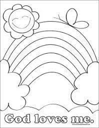 God Loves Me Coloring Pages Printable Preschool Valentine Crafts Fruit Loop Heart Bird Feeder More
