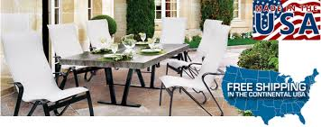 Homecrest Patio Furniture Dealers by American Made Patio Furniture Store