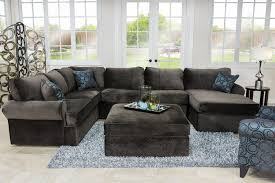 napa chocolate right facing sectional sectionals living room