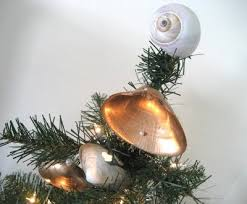 Seashell Christmas Tree Ornaments by Seashell Ornaments Gold Painted Shells For Christmas Completely
