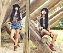 Fashionista NOW Earthy Bohemian Chic Fashion Inspiration
