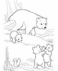 Free Printable Bear Coloring Pages For Kids Intended