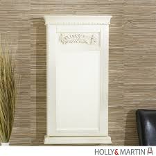 Holly & Martin Juliette Wall-Mount Jewelry Armoire 57-137-059-3-40 Interior Jewelry Armoire Mirror Faedaworkscom Southern Enterprises 4814 In X 1412 Frosty White Wall Belham Living Large Standing Mirror Locking Cheval Armoire On The Wall Jewelry Abolishrmcom Bedroom Magnificent Closet Mounted Glass Sei Photo Display Mount With Over Door Amazoncom Kitchen Ding Compact 139 Have To Have It Lighted Quatrefoil