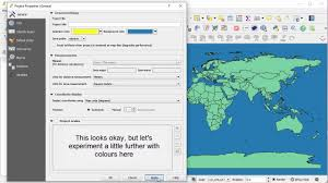 Algebra Tiles Color Template by Change The Background Colour In Qgis Youtube