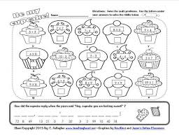 Valentines Day Lessons And Activities Math Worksheets For 3 4 Year Olds Cupcak Maths