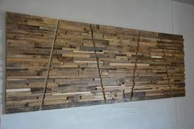 Stylish Design Large Wooden Wall Art With Reclaimed Wood 80 X 30