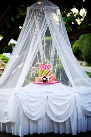 Whats Hot In Weddings Cake Canopies