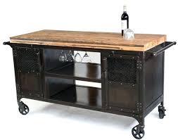 Industrial Kitchen Island Cart Custom Made Home Bar Reclaimed Wood Coffee Mini Wine