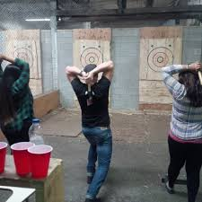 Lumberjack Fun With The Backyard Axe Throwing League – The Neon ... Bad Axe Throwing Where Lives Youtube Think Darts Are Girly Try Axe Throwing Toronto Star Outdoor Batl At In Youre A Add To Your Next Trip Indy Backyard League Home Design Ideas The Join The Moving Into Shopping Mall Yorkdale Latest News National Federation Menu