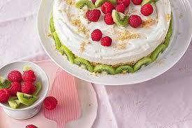frischkäse kiwi torte