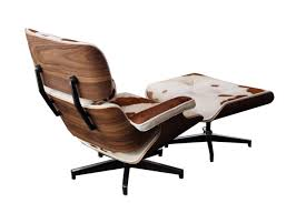 Replica Eames Lounge & Ottoman - Cow Hide - 221d V Replica Eames Lounge Chair Organic Fabric Armchairs Nick Simplynattie Chairs Real Or Fniture Montreal Style And Ottoman Brown Leather Cherry Wood Designer Black Home 6 X Retro Eiffel Dsw Ding Armchair Beech Arm With Dark Legs For 6500 5 Daw Timber White George Herman Miller Eams Alinum Group Italian Surripuinet Light Grey