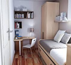 Cute Small Bedroom Design With Minimalist Decorating Elements