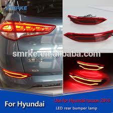Tucson Accessories Rear Bumper Light Reflector Lamp For New
