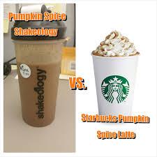 Triple Grande Pumpkin Spice Latte Calories by Pumpkin Spice Latte Shakeology Vs Starbucks Rachel Faul Fitness