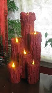 Halloween Battery Operated Taper Candles by 86 Best Halloween Candles Images On Pinterest Halloween Candles